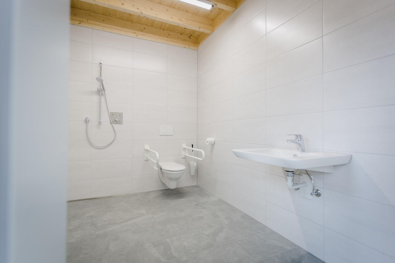 Sanitäre Anlagen, WC, Toiletten, behindertengerecht, Camping an der Ablach, Messkirch,