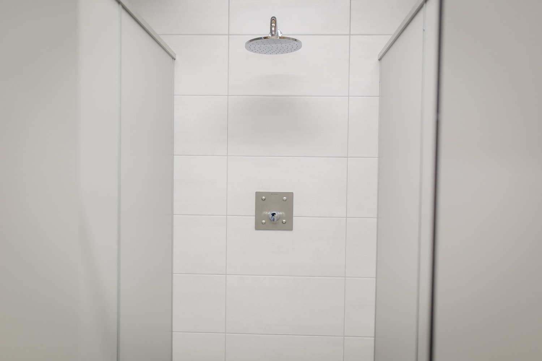 Sanitäre Anlagen, Dusche, Camping an der Ablach, Messkirch,