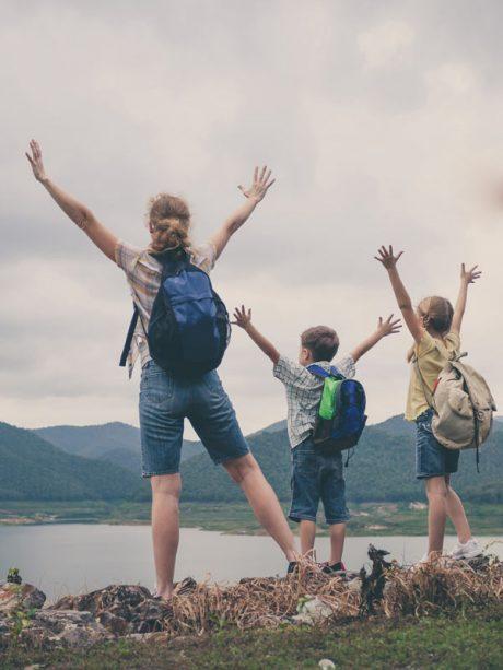 Camping an der Ablach, Meßkirch, Bodensee, Urlaub, Freizeit, Wandern, Familie,