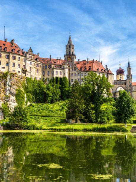 Camping an der Ablach, Meßkirch, Schloss Sigmaringen, Urlaub, Freizeit